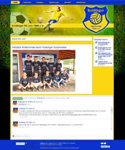 Webdesign Koldinger Fussball Sportverein, Pattensen