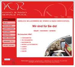 Webdesign Webseite Kyano & Rado Servicepool Pattensen Sehnde