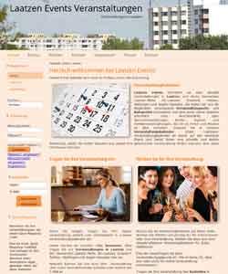 Webdesign Laatzen Events Veranstaltungsagentur Laatzen