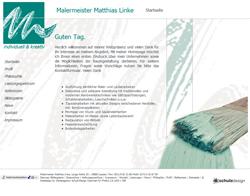 Webdesign Malermeister Matthias Linke Laatzen