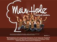 Webdesign MEIN HOLZ Holzhandel Hannover