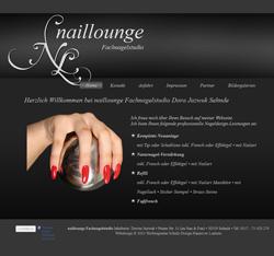 Webdesign naillounge Nageldesign Nagelfachstudio Sehnde