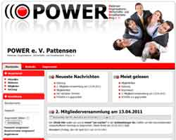 Werbeagentur Pattensen - Webdesign Power Pattensen Werbung