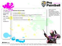 Webdesign Pro Paintball Hannover