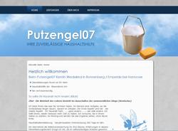 Webdesign Webseite Reinigungsdienstleister Haushaltshilfe Ronnenberg