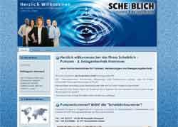 Webdesign Fachunternehmen fuer Pumpen Hebeanlagen und Beregnungstechnik Hannover