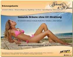 Webdesign Schönheit & Wellness Bräunungsdusche Pattensen