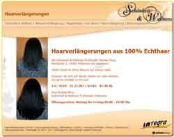 Webdesign Webseite Schönheit & Wellness Haarverlaengerung Pattensen