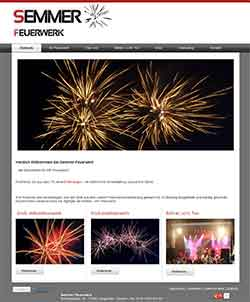 Webdesign Webseite Pyrotechnik Langwedel