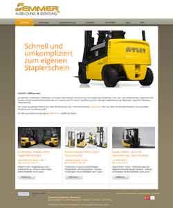 Webdesign Webseite Staplerführerschein Sicherheitsausbildung Gefahrgutschulung Langwedel/Etelsen