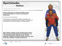 Webdesign Webpraesenz Sportstudio Rethen
