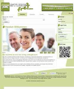 Webdesign Pensionen- und Hotelportal