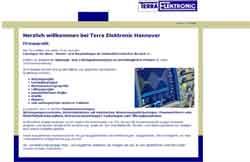 Webdesign Elektroanlagen Elektronischer Dienst Hannover