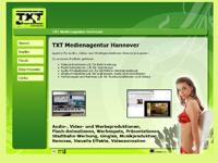 Webdesign Webseite TXT Medienagentur Hannover Laatzen