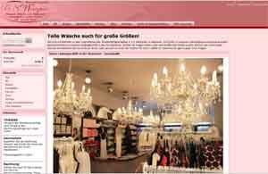 Webdesign Webseite Miederwarenfachgeschaeft Hannover