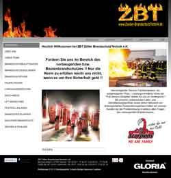 Webdesign Brandschutztechnik-Unternehmen Giesen