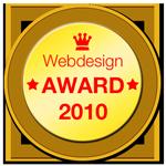 Webdesign Auszeichnung 2010 Webdesigner Webseitenoptimierer SEO Suchmaschinenoptimierung Werbeagentur Hannover Laatzen